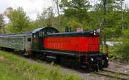 The Berkshire Scenic Railway Museum's primary mission is to foster interest in the history of railroading in the Berkshire Hills of western Massachusetts  - Lennox to Stockbridge