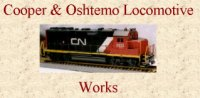 Oshtemo Loco Works has produced a line of fine custom painted H.O. gauge model railroad freight cars and diesel engines. Our present production is of Michigan shortline railroads