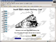 The South Shore Model Railway Club is an HO scale club conforming to National Model Railway Association Standards. Founded in 1938 in the basement of a store in Quincy MA belonging to one of the first club members. The club has been in continuous operatio
